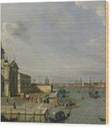 Santa Maria Della Salute - Venice  Wood Print