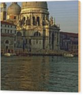 Santa Maria Della Salute In Venice In Morning Light Wood Print