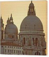 Santa Maria Della Salute In Venice Wood Print