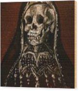 Santa Muerte Holy Death Wood Print