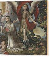 Santa Rosa De Lima Wood Print