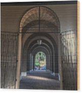 Santa Sabina Wood Print