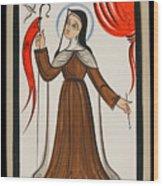 Santa Teresa De Avila - St. Teresa Of Avila - Aoavi Wood Print
