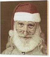 Santa's Day Off Wood Print