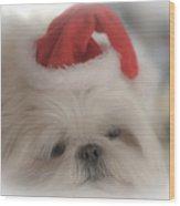 Santa's Sweetie Wood Print