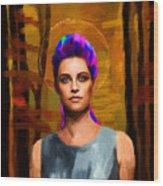 Santia 123 Wood Print