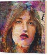 Santia Beauty Face 1062 Wood Print