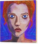 Santia By Maca II Wood Print