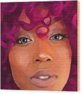 Santia New Color Wood Print