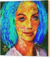 Santia True Colors 673 Wood Print