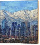Santiago De Chile, Chile Wood Print