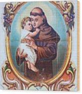 Santo Antonio De Lisboa Wood Print