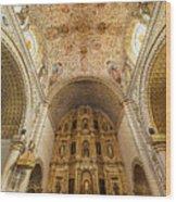 Santo Domingo Church Interior Wood Print