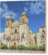 Santo Domingo Church View Wood Print