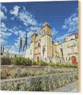 Santo Domingo Church Wide Angle Wood Print