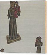 Santo Wood Print