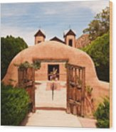 Santo Nino De Atocha Chimayo New Mexico Wood Print