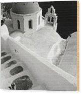 Santorini 022 Wood Print