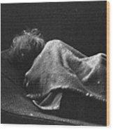 Portraits Of Poverty 1988-1997 Wood Print