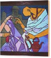 Sanyasi-ii Wood Print