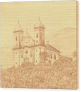 Sao Francisco De Paula Church Wood Print