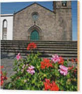 Sao Miguel Arcanjo Church Wood Print