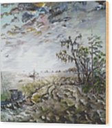 Sapelo Island Wood Print by Richard Barham