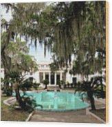 Sapelo Mansion  Wood Print
