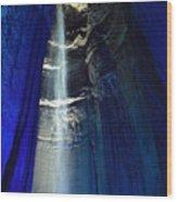 Sapphire Ruby Falls Wood Print