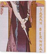 Sarah Bernhardt Wood Print