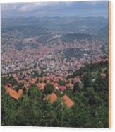 Sarajevo   Wood Print