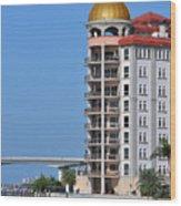 Sarasota Life 02 Wood Print