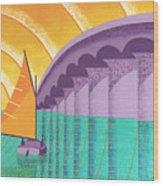 Sarasota Sail Wood Print