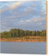 Sardis Lake Wood Print