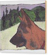 Sarge Wood Print