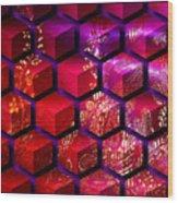 Sari Cubed Wood Print