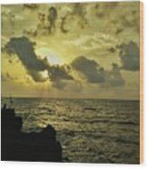 Sarjekot Sunset Point Wood Print