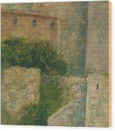 Sartene Corsica Wood Print