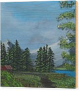 Saskatchewan Wood Print