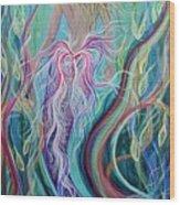 Sassy Mermaid  Wood Print