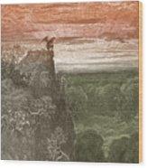 Satan, By Dore Wood Print