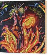 Satanico Pandemonium Wood Print