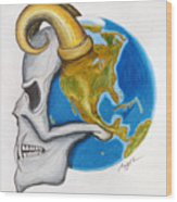Satan's-cerebellum Wood Print