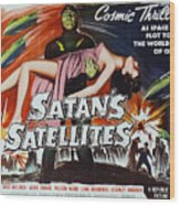 Satan's Satellites Wood Print
