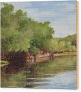 Satilla River Wood Print