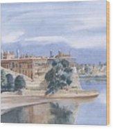 Sattaein Jo Aastan Wood Print