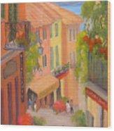 Saturday Stroll - Bellagio Wood Print