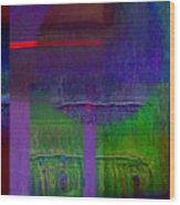 Saturn Wood Print