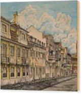 Saudade/ The Swallows Of Lisbon Wood Print