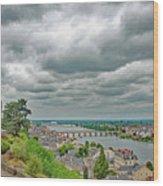 Saumur, Chateau, Loire, France Wood Print